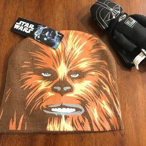 NWT Star Wars Chewy beanie
